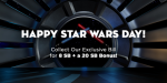 Swagbucks: May The Fourth Collector's Bill