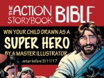 Super Hero Kids Giveaway with David C Cook!