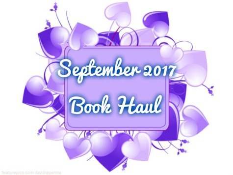 September 2017 Book Haul