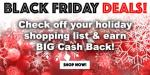 Get Big Cash Back during the Swagbucks Black Friday Sale!