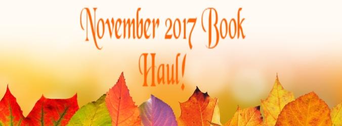 November 2017 Book Haul