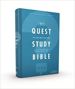 The NIV Quest Study Bible