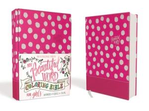 NIV Beautiful Word Coloring Bible for Girls pink